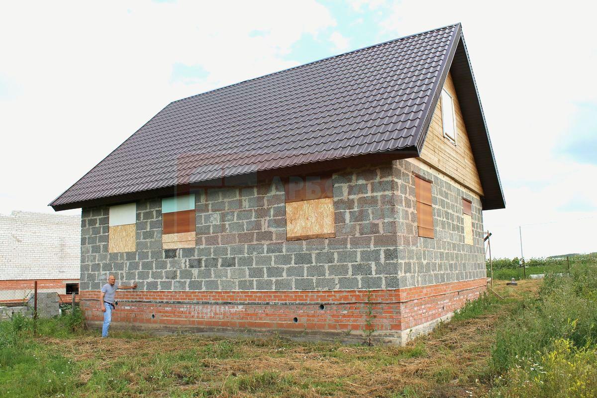 сколько стоит дом из арболитовых блоков